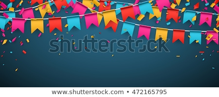 Blue  and pink  Festive background Stock photo © neirfy