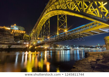 Dom Luise bridge, Porto Stock photo © joyr