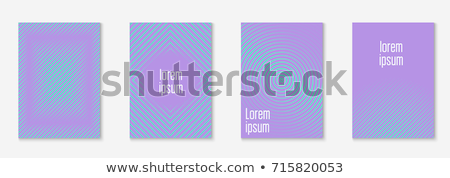 フレーム 幾何学模様 ライラック 色 紙 抽象的な ストックフォト © aliaksandra
