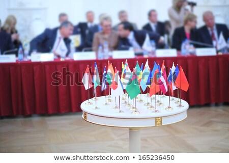 Estonia · eu · flagi · malowany · pęknięty · konkretnych - zdjęcia stock © tashatuvango
