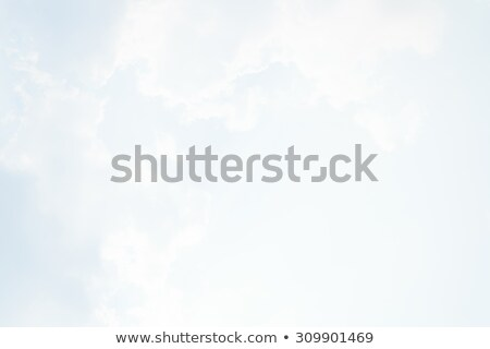 Blue heaven with sunshine and white skies stock photo © Sportactive