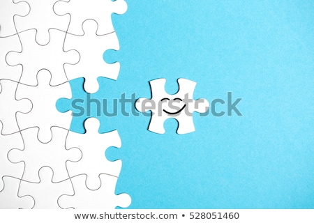 Happiness - Puzzle on the Place of Missing Pieces. Stock photo © tashatuvango