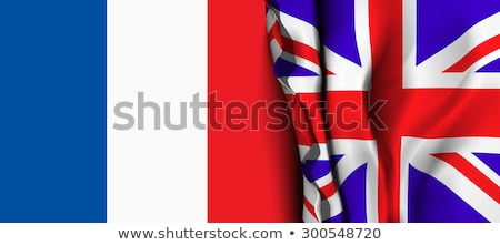 bandera · Reino · Unido · Francia · pueden · utilizado · comercio - foto stock © m_pavlov