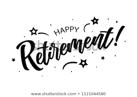 Retirement word Stock photo © fuzzbones0