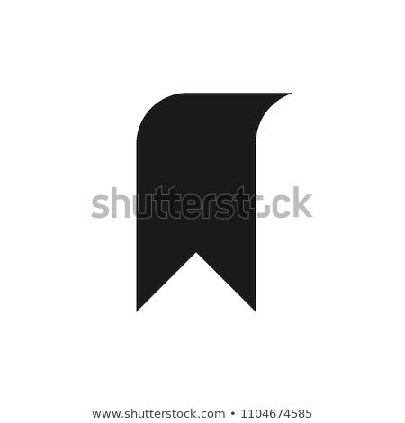 красный · знак · символ · черный · темно - Сток-фото © netkov1