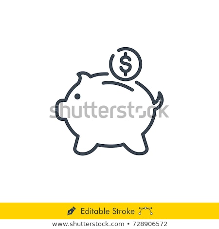 currency sign pink vector button icon stock photo © rizwanali3d