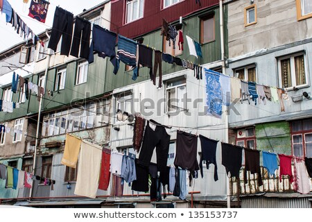 Drying clothes, Georgia Stock photo © joyr