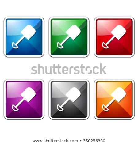 Piros vektor ikon terv digitális grafikus Stock fotó © rizwanali3d