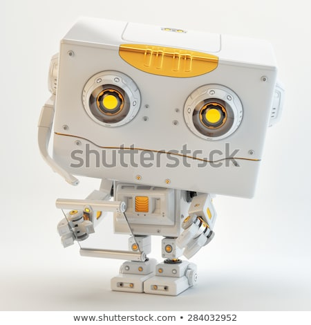 Toy robot looking innocently Stock photo © creisinger