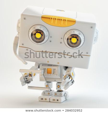 Toy robot looking innocently Stock photo © creisinger
