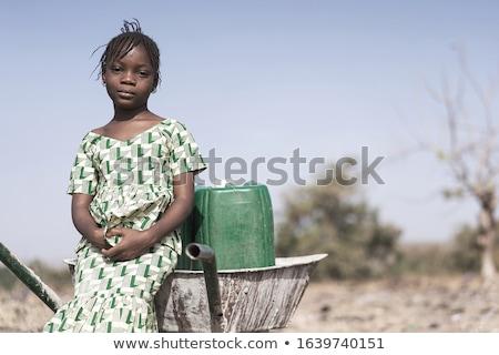 Wody problem konewka rdzy zaniedbany ochrona Zdjęcia stock © Lightsource