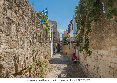 Ancient fortress empty street Stock photo © Steffus