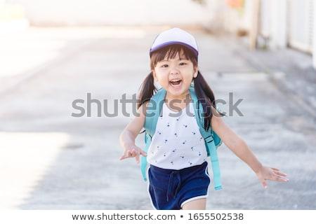 портрет · детский · сад · девушки · рюкзак · студент · образование - Сток-фото © zurijeta