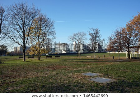 парка Берлин свет зеленый синий Сток-фото © meinzahn