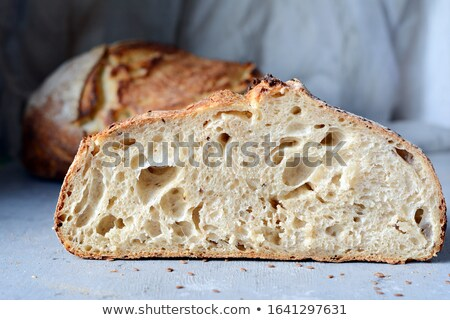 organisch · brood · zemelen · mout · rogge · meel - stockfoto © givaga