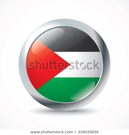 West Bank flag button Stock photo © ojal