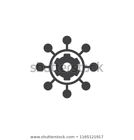 Project Management Icon. Flat Design. Stock photo © WaD