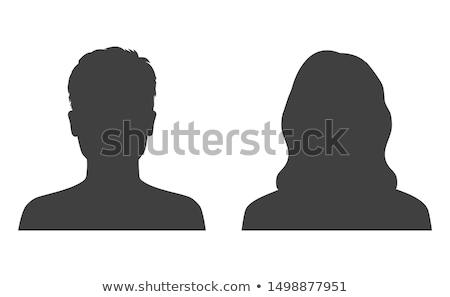 Heads of male and female Stock photo © bluering