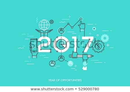 Business opportunity in 2017 Stock photo © stevanovicigor