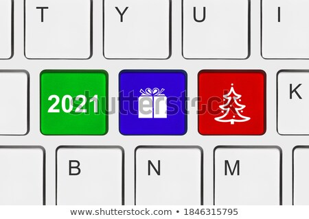 Stock photo: Computer keyboard choice