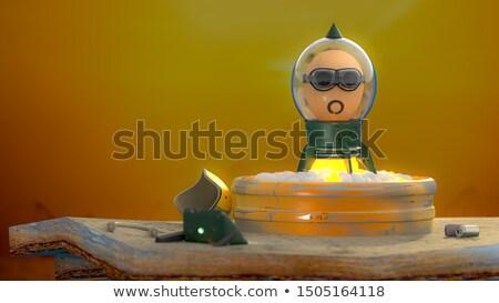 Stock fotó: Egg Heads