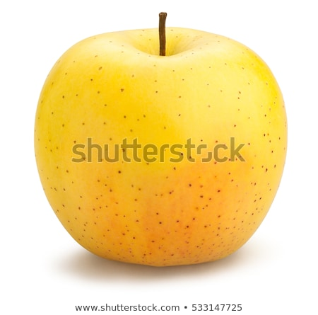 Golden Delicious apple on white Stock photo © luissantos84