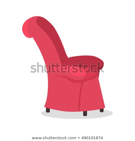 Dads Favourite Arm Chair. Fathers Place in House. Stock photo © robuart
