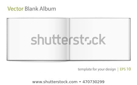blank hardcover album stock photo © mediaseller