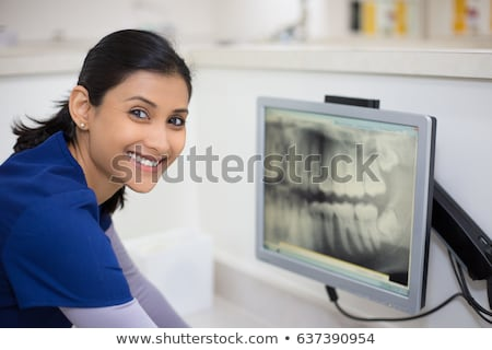 Portrait of a female dental assistant Stock photo © IS2
