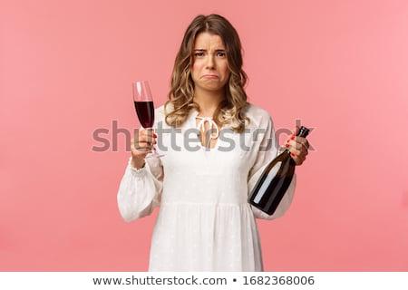 şarap · şişesi · klasik · çekici · şişe · şarap · içmek - stok fotoğraf © traimak