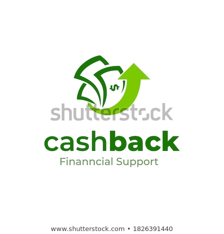 money bills and up arrow Illustrator. design graphic Stock photo © alexmillos