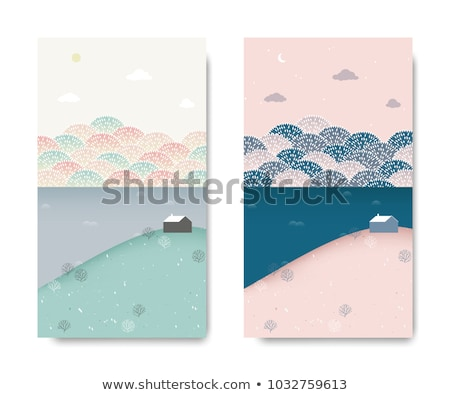 spring landscape with small mountain lake stock photo © kotenko