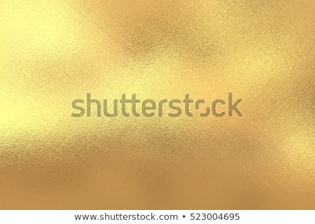 Shiny yellow leaf gold foil texture Stock photo © scenery1