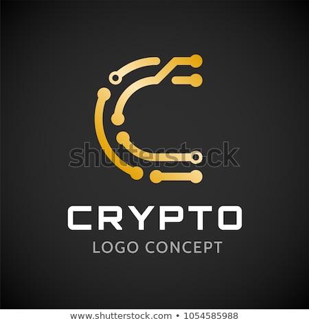 логотип шаблон икона письме технологий современных Сток-фото © ussr