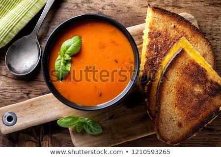 野菜 · クリーミー · スープ · 自家製 · ブロッコリー - ストックフォト © barbaraneveu
