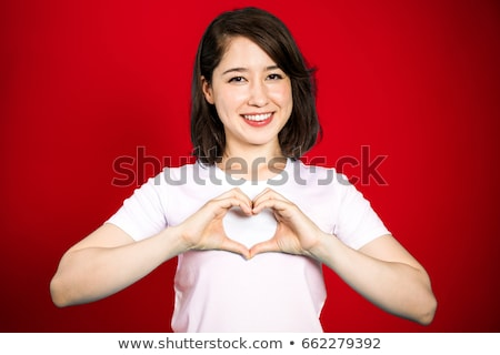 hands make heart shape for happy mother day stock photo © suriyaphoto