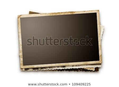 blank grunge photo frame  Stock photo © inxti