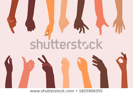 Middle finger gesture Stock photo © ia_64