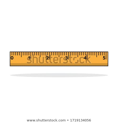 Stock photo: Tools for Writing and Measuring Cartoon Banner
