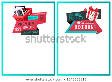 Fixed Price Only One Day Offer Web Page Templates Stock photo © robuart