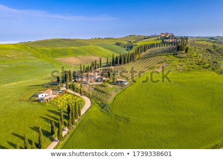 Val d'Orcia in Tuscany, Italy Stock photo © boggy