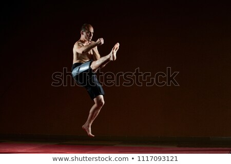 спортсмена ногу Перейти человека спорт Сток-фото © Andreyfire
