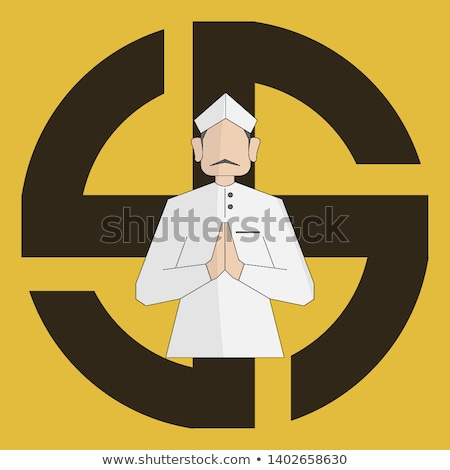 indian general election 2019 voting concept design Stock photo © SArts