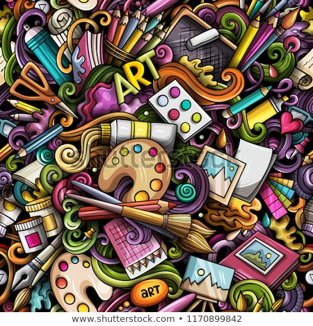 karikatür · sevimli · dizayn · sanat - stok fotoğraf © balabolka