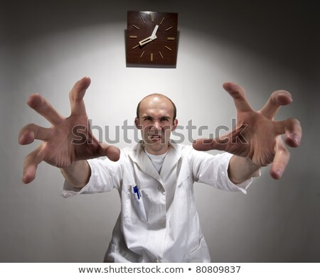 Ominous angry doctor Stock photo © nomadsoul1