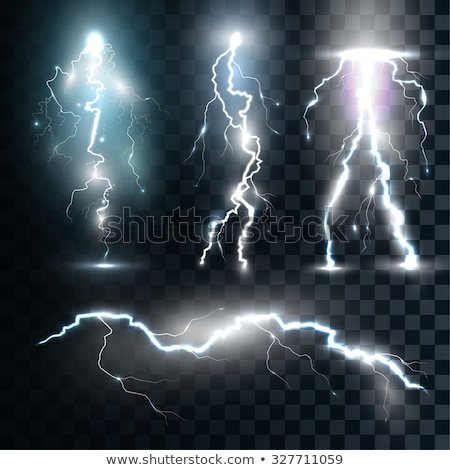 Abstract Thunderbolt Effect, Lightning Bolt Flare Stock photo © robuart