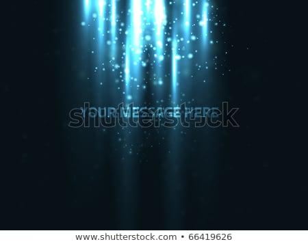 Tecnologia blu particelle design sfondo Foto d'archivio © SArts