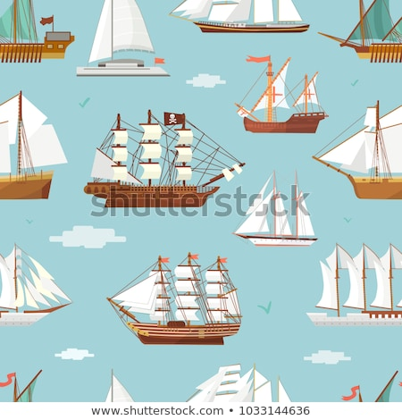 Oude schip man klein boot naar Stockfoto © orla