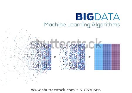 Big data analysis vector concept metaphor. Stock photo © RAStudio