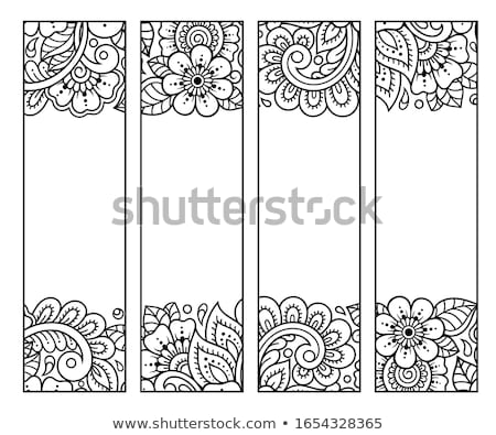 set of colorful bookmarks stock photo © orson